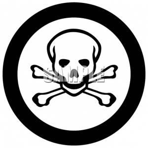 Death Symbol Clipart.