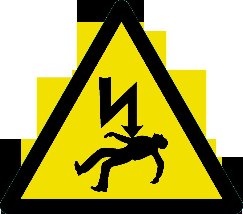 Danger of Death Sign.
