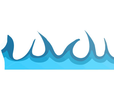 Water flow clipart.