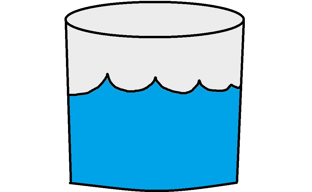 1 cup of water clipart.