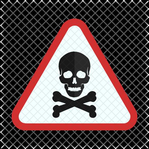 Danger sign Icon.