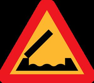 9224 danger road sign clip art.