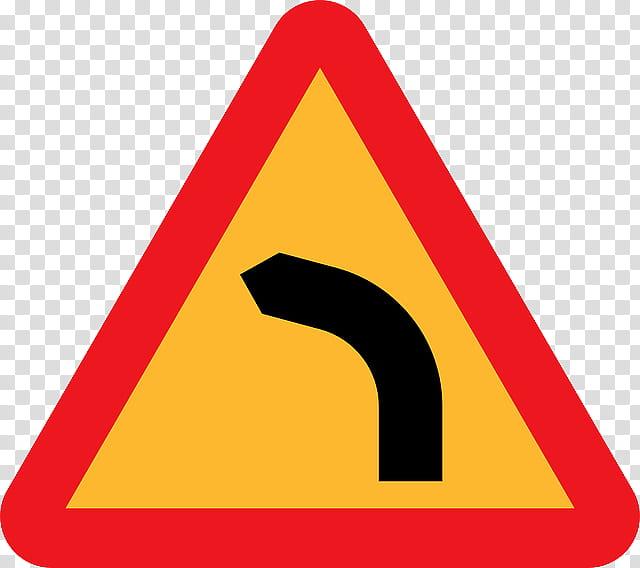 Road, Traffic Sign, Bourbaki Dangerous Bend Symbol, Drawing.
