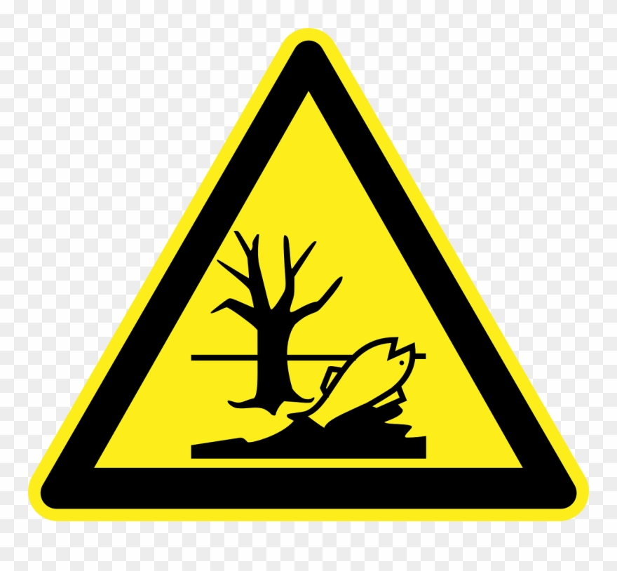 Danger Cutter Toe Loss Warning Sign.