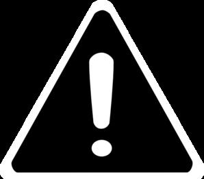 Danger Signs Clip Art.