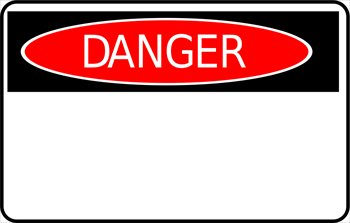 Danger Sign Clipart.