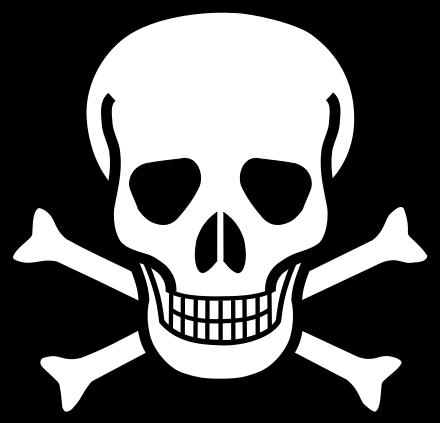Hazard symbol.