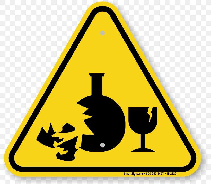 Hazard Symbol Warning Sign Glass, PNG, 800x716px, Hazard.