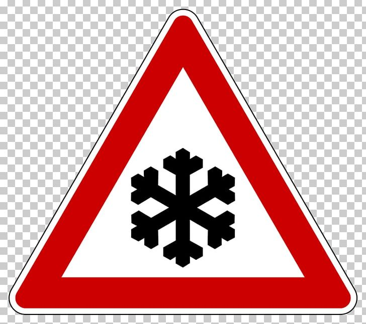 Icy Road Danger Warning Road Sign PNG, Clipart, Traffic.