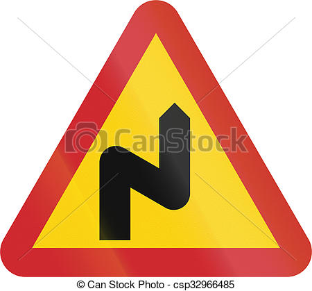 Pictures of Road sign used in Sweden.