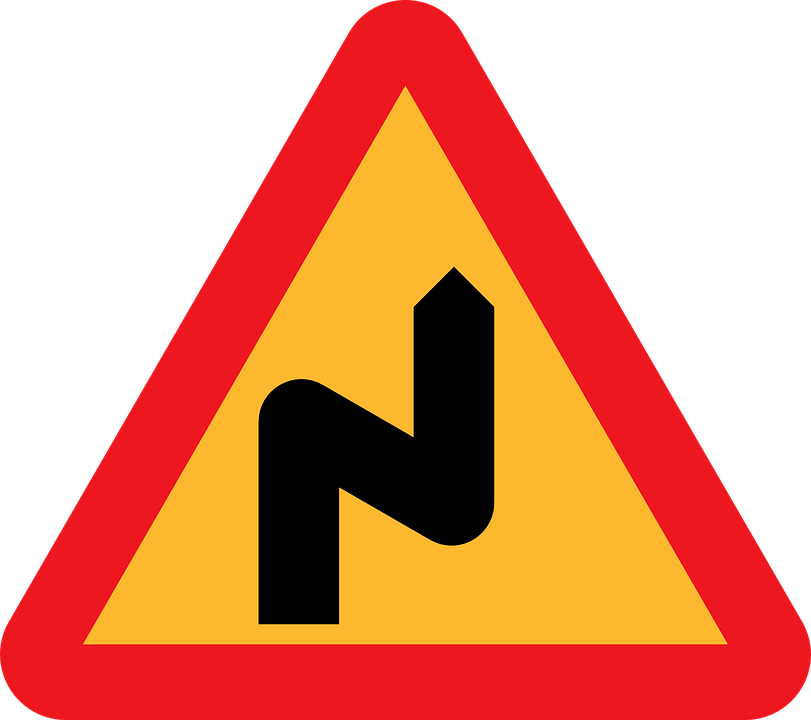 Free vector graphic: Double Bend To The Right.