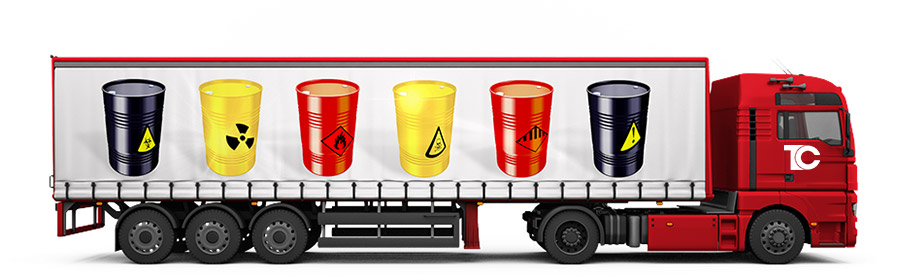 Dangerous goods. Transconsult provides a full range of dangerous.