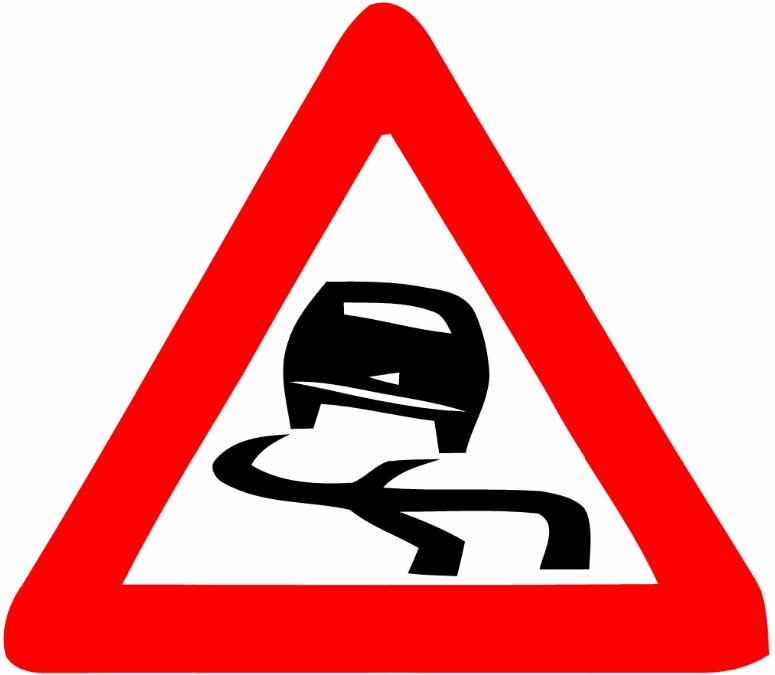 Road Danger Signs.