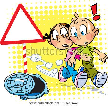 Children Fighting Stock Vector 251261290.
