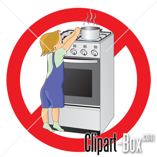 CLIPART CHILD DANGER.