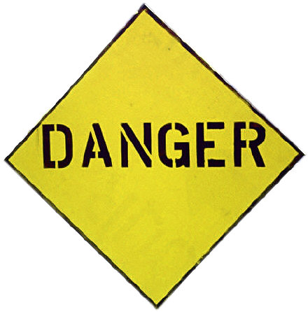Danger Sign.