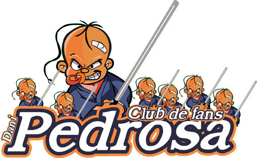 Logo Club de Fans Dani Pedrosa.
