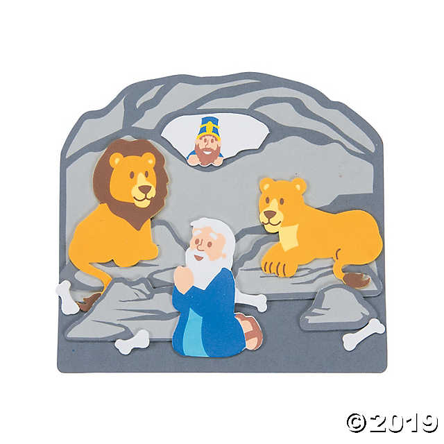 Daniel & the Lions' Den Scene Craft Kit.