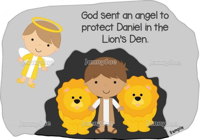 Daniel in the lions den clipart 11 » Clipart Portal.