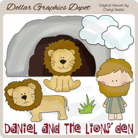 Daniel and The Lions' Den.