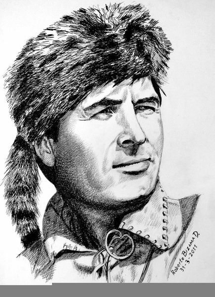 Daniel Boone Clipart.