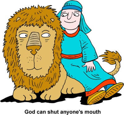 Daniel In The Lions Den Clipart.
