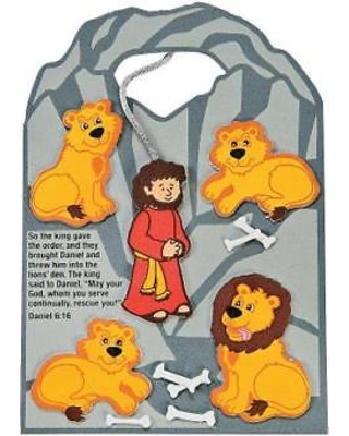 Fun Express Daniel Cast to the Lions\' Den Craft Kit By Fun Express from  Wal.