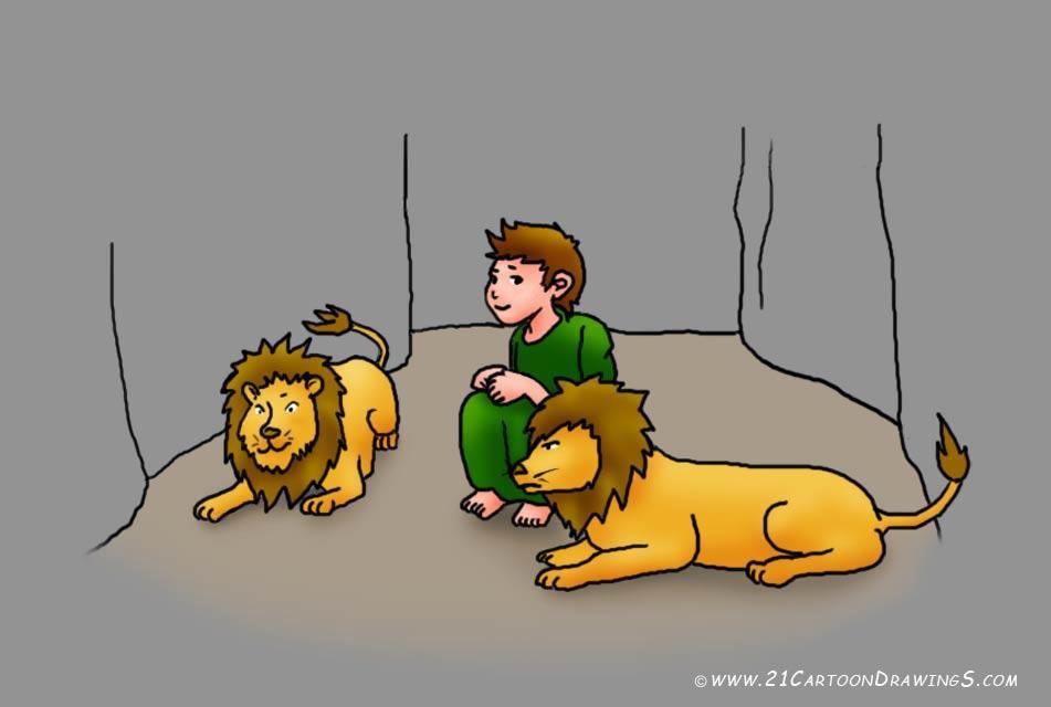 12+ Daniel And The Lions Den Clipart.