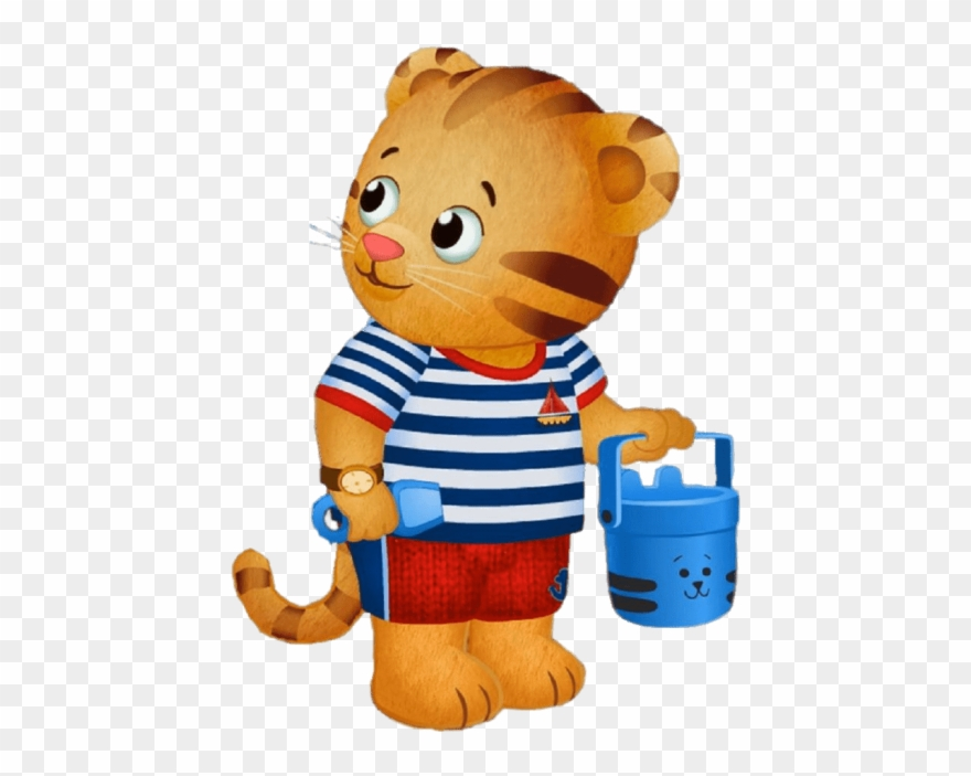 Free Png Download Daniel Tiger At The Beach Clipart Transparent Png.