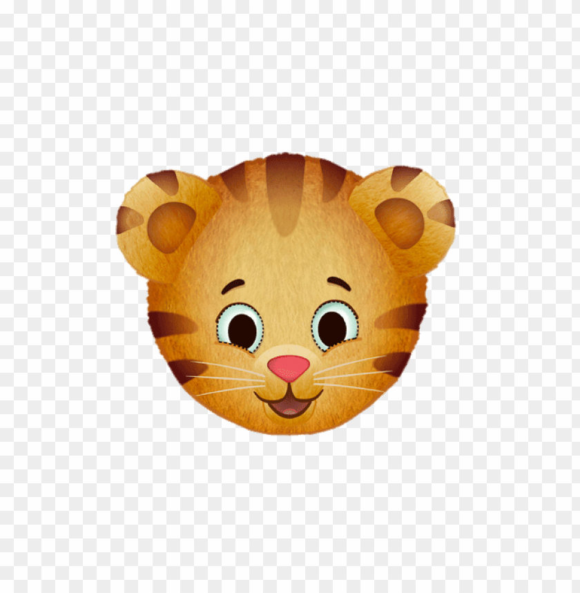 Download daniel tiger face clipart png photo.