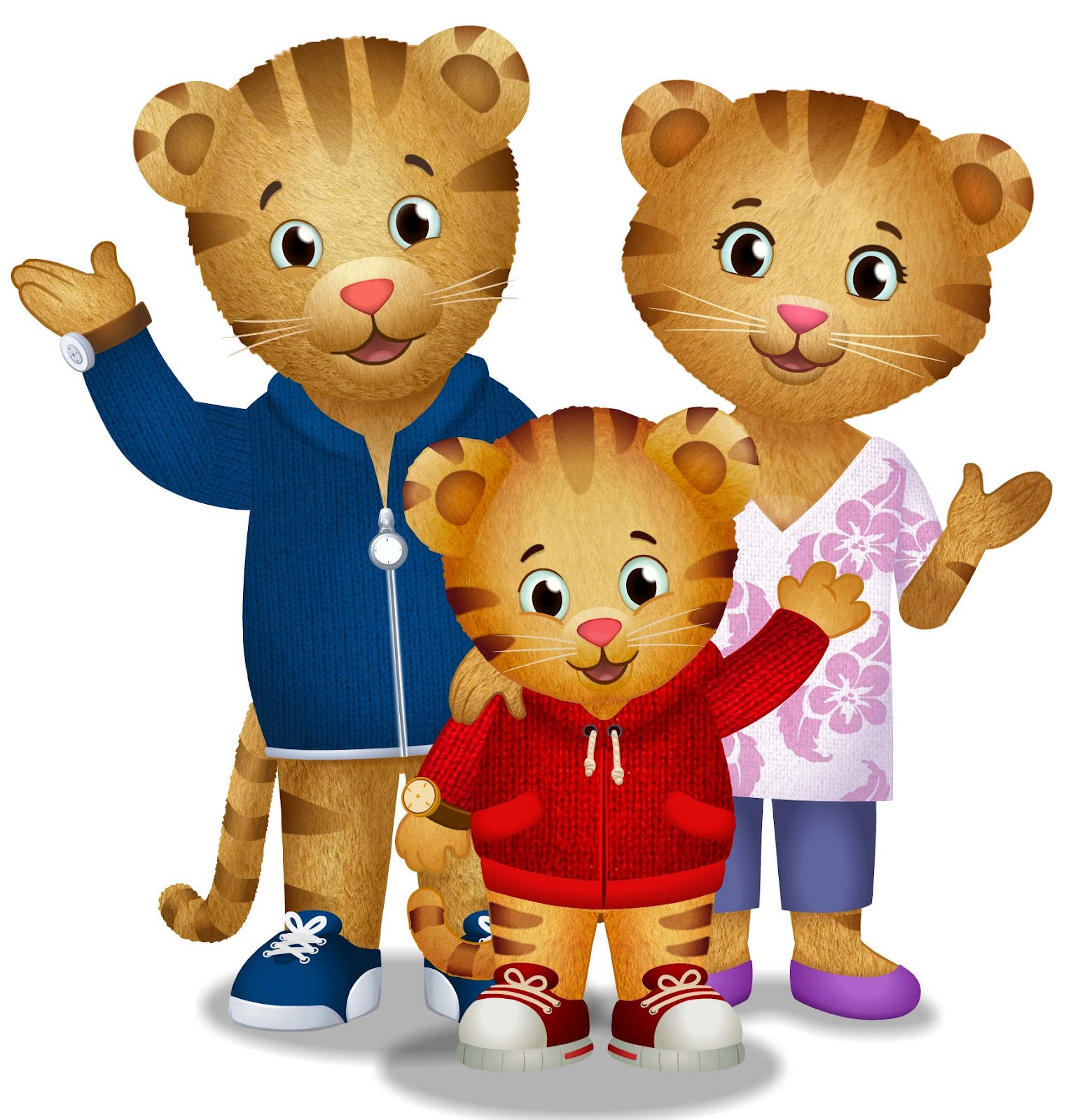 Daniel tiger clipart 4 » Clipart Station.