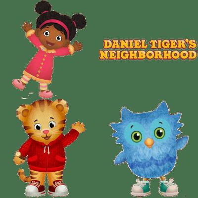 Daniel Tiger's Neighborhood transparent PNG images.