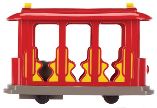 Daniel Tiger's Neighborhood Trolley with Daniel Tiger Figure.