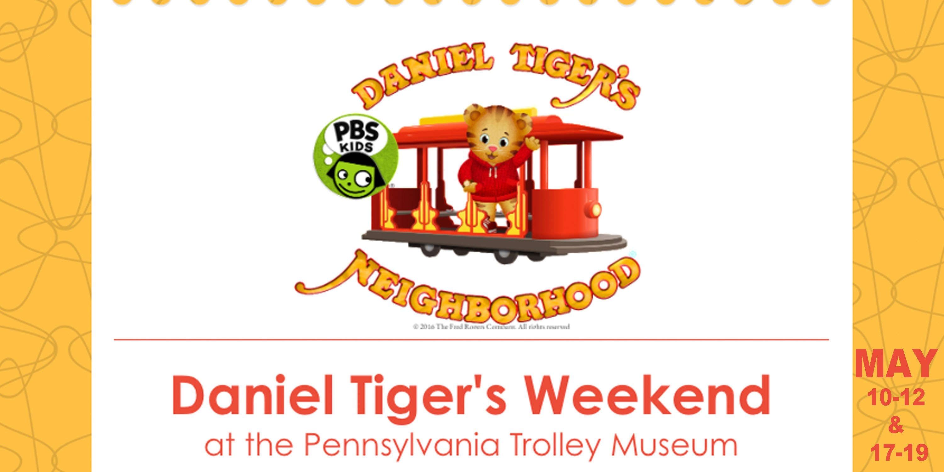 Daniel Tiger's Weekend at Pennsylvania Trolley Museum.