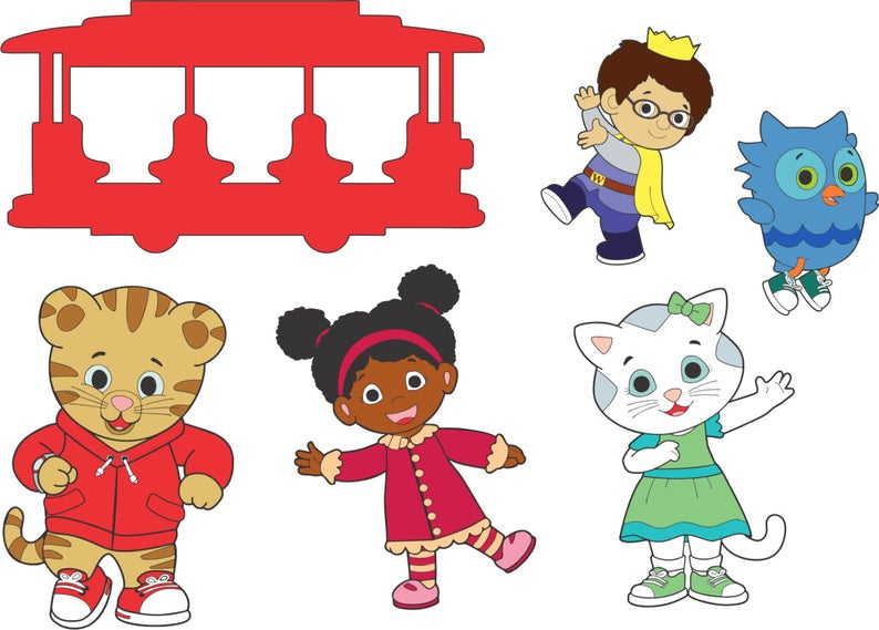 Daniel Tiger's Neighborhood Cricut Explorer SVG.