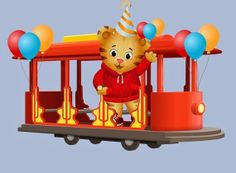 Daniel Tiger Trolley Clipart (97+ images in Collection) Page 1.