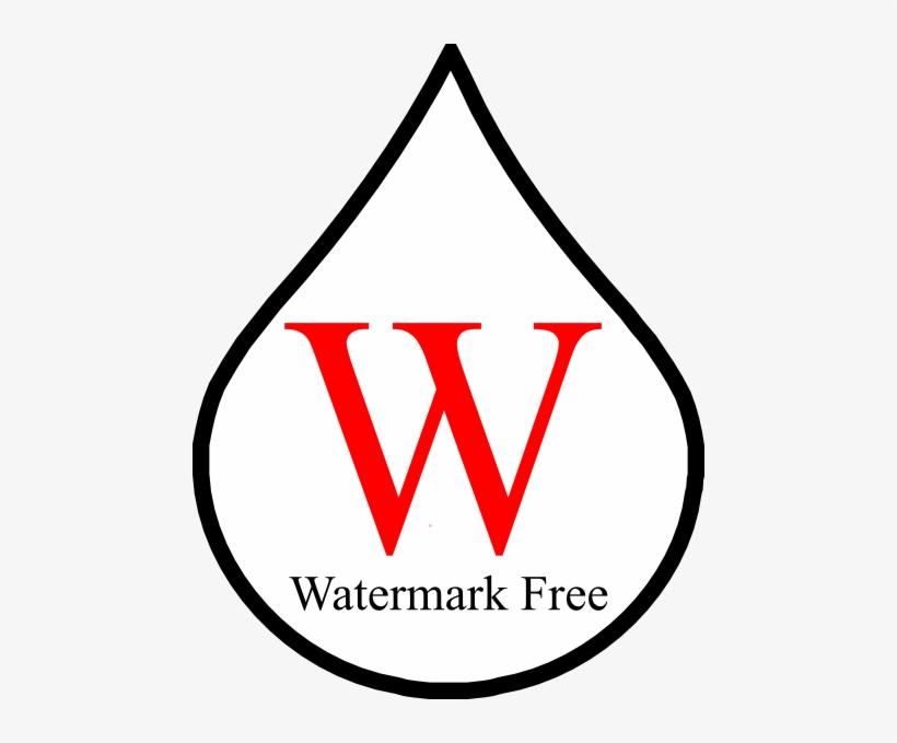 Watermark Free Logo Clip Art.