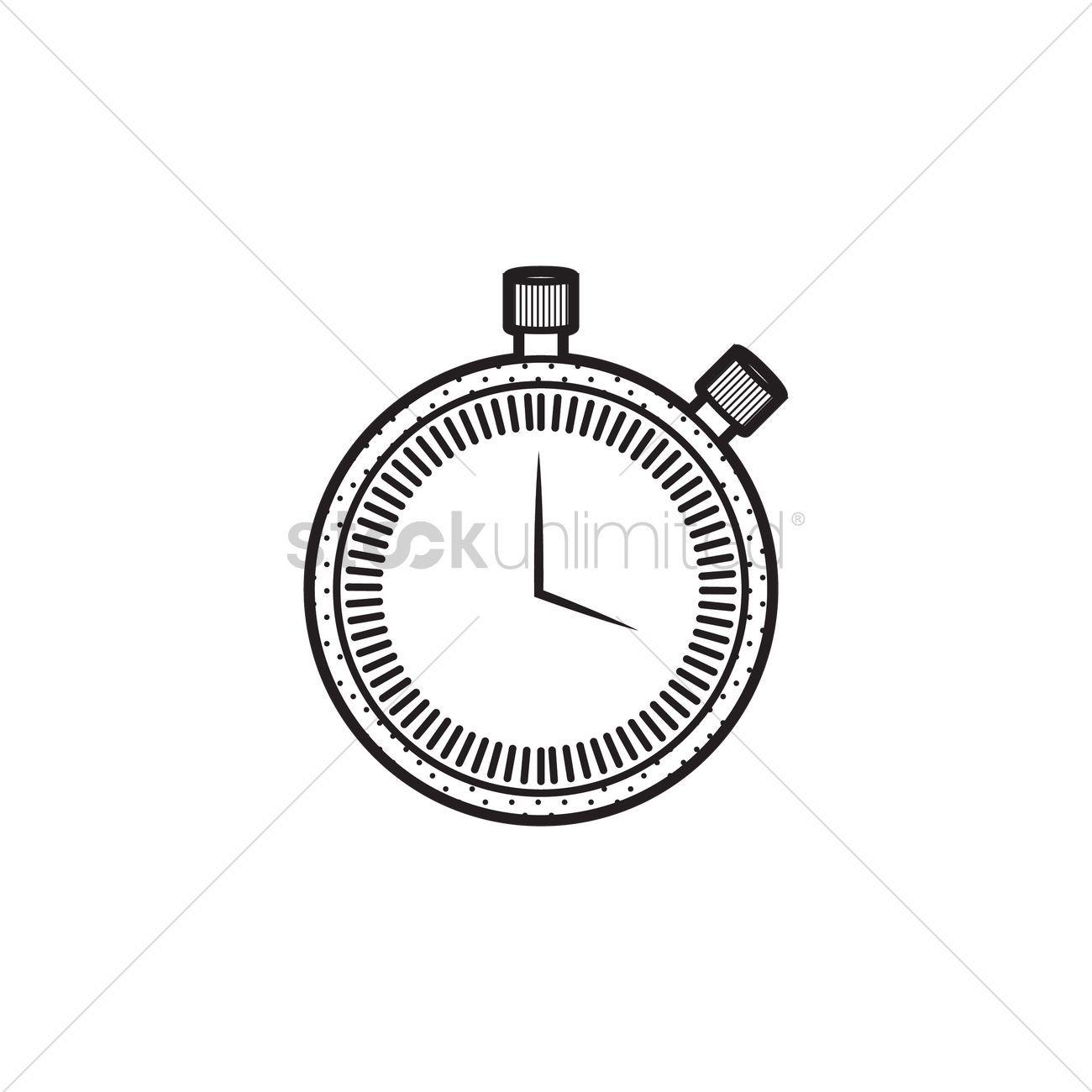 Stopwatch vectors, stock clipart , #Ad, #vectors, #Stopwatch.