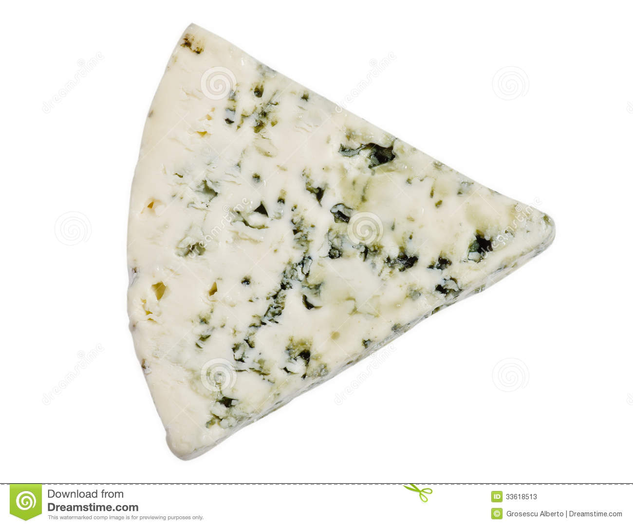 Danish Blue Cheese Stock Photos.