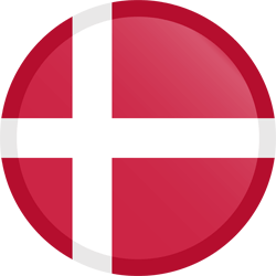 Denmark flag clipart.