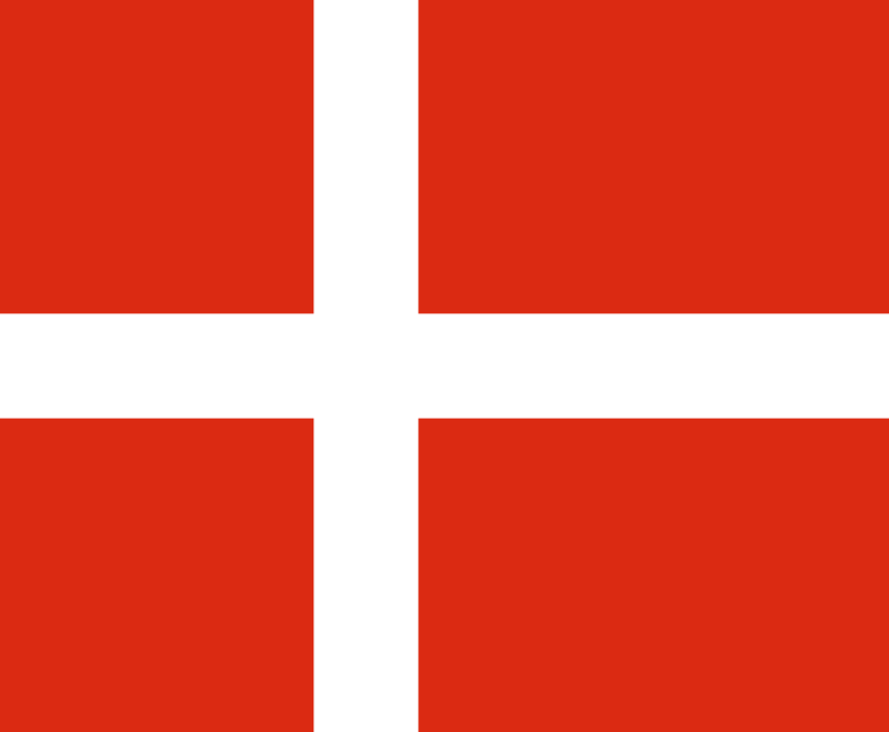 Free clipart danish flag.
