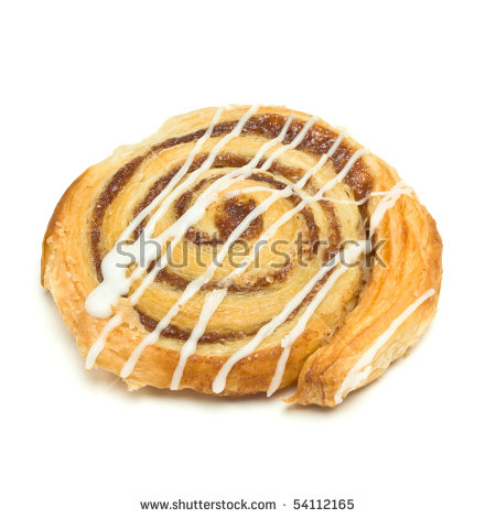 Danish Pastry Stock Images, Royalty.