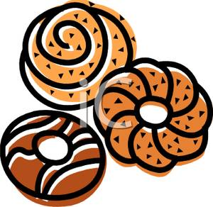 Clipart pastries.