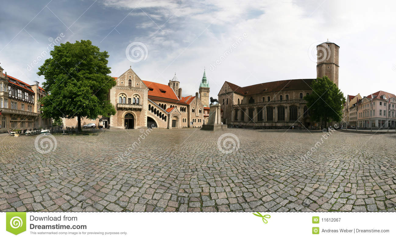 Braunschweig (Brunswick), Germany Royalty Free Stock Photography.