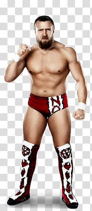 Bryan Danielson transparent background PNG clipart.