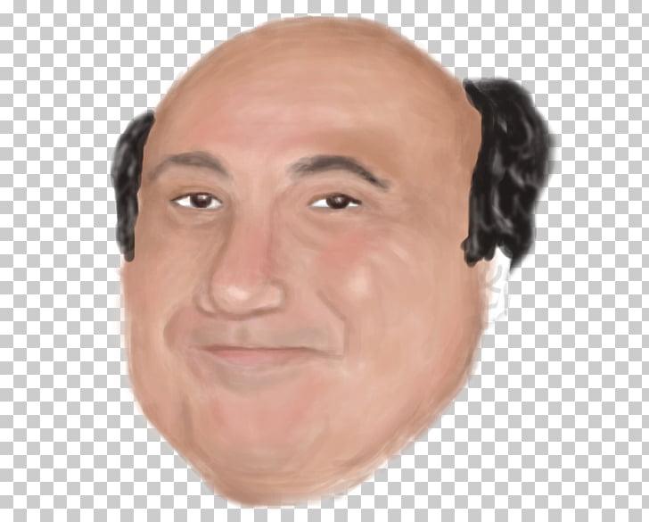 Danny DeVito Portrait Face, Face PNG clipart.