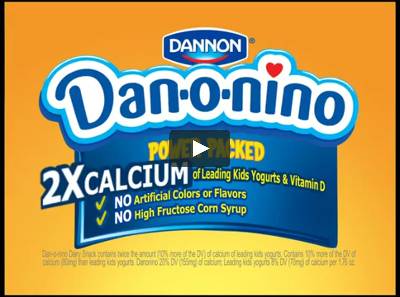Danonino Yogurt.