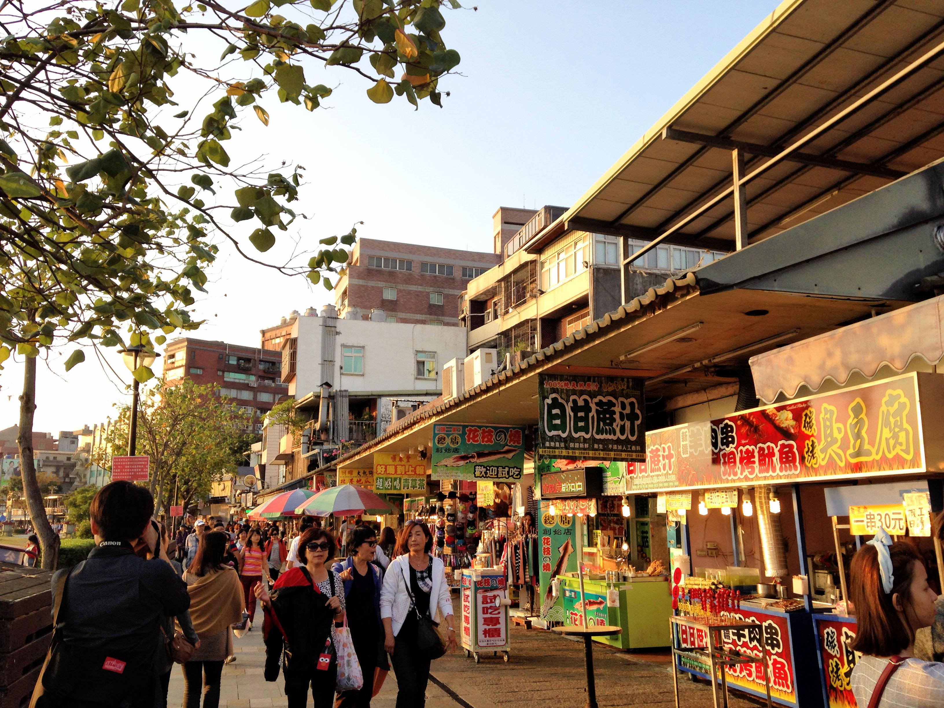 Tamsui [Danshui] Old Street (淡水老街).