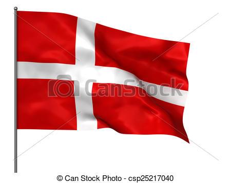 Danish flag.
