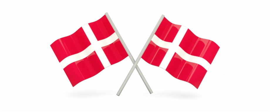 Two Danish Flags Free PNG Images & Clipart Download #1227158.